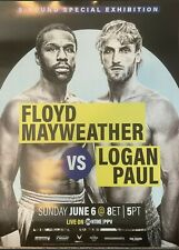 🥊Floyd Mayweather vs. Logan Paul Joe Hand Promo Official Fight Poster🥊16×24