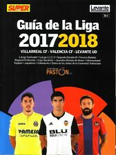 2017 2018 Spain Super Deporte Valencia Guia Liga Spanish Football Season Preview