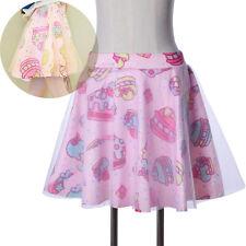 Cute Girl Gauze Double Layer Mini TUTU Skirt Short Dress Lolita Harajuku Gift 1X