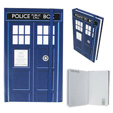 DOCTOR WHO TARDIS A5 NOTEBOOK HARDBACK LINED 160 PAGES BRAND NEW OFFICIAL