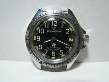 USSR SOVIET RUSSIAN VOSTOK KOMANDIRSKIE RED STAR ZAKAZ MO MILITARY WATCH