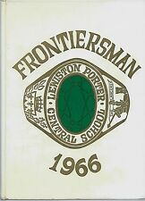 1966 Lewiston Porter High School Youngstown NY Yearbook FRONTIERSMAN