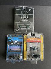 Lot of 3 Greenlight Cars - Black Bandit plus two more miscellaneous Nib