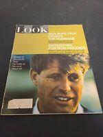 Vintage LOOK Magazine April 16 1968 RFK Robert F Kennedy Cover