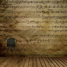10x10ft Sheet Music Vinyl Photography Background Studio Props Backdrop