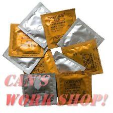 Wholesale Bulk Sale 10/30/50/100 Dotted Latex  Contex Condoms Square Sealed pack