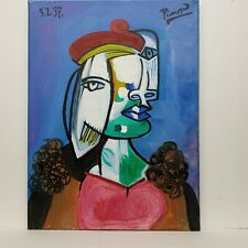 Pablo Picasso –  Oil Painting on CANVAS - 12 x 16