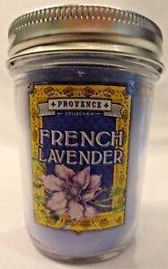 French Lavender Scented Jar Candle New Purple Hostess Gift Bath & Body Works