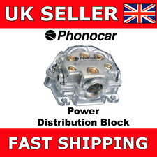 Phonocar 4/483 Power Distribution Block 0AWG input 2AWG, 4AWG and 8AWG output
