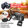 12V Motorcycle Motorbike Waterproof Dual USB Charger Power Adapter Socket