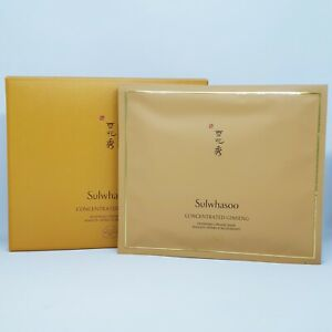 Sulwhasoo Concentrated Ginseng Renewing Creamy Mask x 1set Anti-Aging K-Beauty
