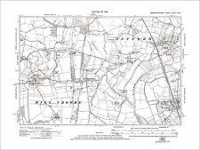 Defford, Eckington (W), Baughton, old map Worcs 1924: 48NW