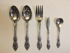 Oneida Community Stainless Brahms Flatware 5 Pc Serving Set