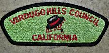 VERDUGO HILLS COUNCIL OA 58 CA SPE-LE-YAI LODGE 249 FLAP PATCH RARE VARIETY CSP