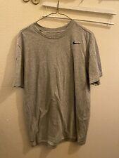 Nike Dri Fit Mens Gray Large