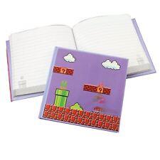 Nintendo Retro Super Mario Bros. 3D Motion Cover Mini Hardback Lined Notebook