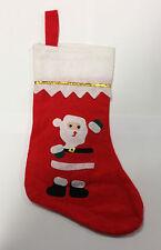 Fieltro Christmas Stocking-Santa