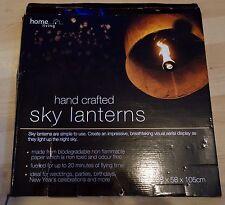 2 X SKY LANTERNS / 38 X 58 X 105 cm