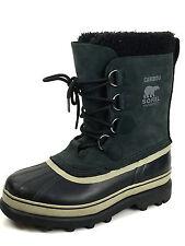 Sorel Men's Caribou Boots Black Tusk NM1000-014 Size US.7 UK.6 EUR. 40