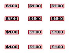 Business & Industrial Greenwald Coin Slide Decal $0.25 12 Pk