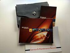 RENAULT SCENIC SERVICE BOOK WALLET & HANDBOOK PACK - 1997  To 2004