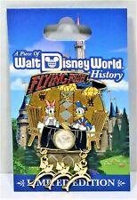 Disney Piece of History 2017 Donald& Daisy Flying Fish Cafe 3-D Pin LE 1500 NEW