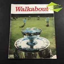NOV 1961 WALKABOUT MAGAZINE DAVIS CUP PERTH SHENTON'S MILL IZAAK WALTON FISHING