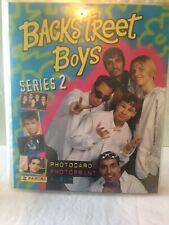 1997 Panini Backstreet Boys 40 Card Photo Print Album BSB  Series 2 Panini