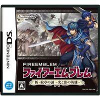 Used Nintendo DS Fire Emblem Shin Monshou no Nazo Hikari to Kage no Eiyuu Japan