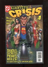 IDENTITY CRISIS #1  (9.2) SIGNED BY RAGS MORALES