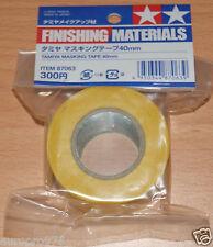Tamiya 87063 Masking Tape 40mm Width, 18m Length, for RC Body Shells NIP