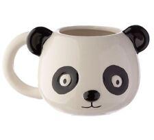 NOVELTY PANDA HEAD 3D STYLE ANIMALS COFFEE MUG CUP NEW IN GIFT BOX