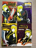 Princess Resurrection 1-3, 6, Lot of 4 Shonen Manga, English, 16+