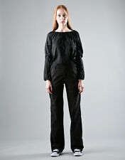 COMING SOON by Yohji Yamamoto striped pants trousers pantaloni donna 42 IT BNWT
