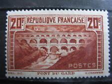 FRANCE neuf n° 262A  LE PONT DU GARD