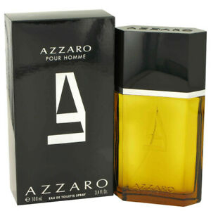 AZZARO POUR HOMME 100ML EDT BY LORIS AZZARO FOR MEN'S PERFUME SEALED BOX GENUINE