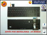 TECLADO ESPAÑOL NUEVO PORTATIL ASUS 0KN0-RZ1SP13    RETROILUMINADO TEC48