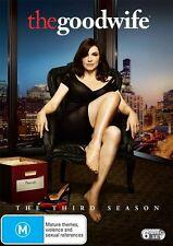 The Good Wife : Season 3 (DVD, 2012, 6-Disc Set) NEW