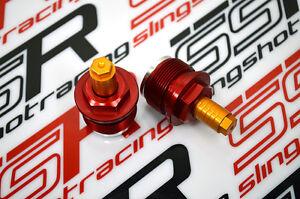 Honda CB300F CNC Billet Aluminum Front Fork Suspension Preload Adjusters