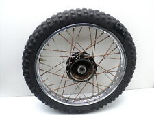 #4050 Yamaha YZ80 YZ 80 Chrome Front Wheel & Tire