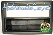 Mascherina Autoradio Adattatore Renault Megane II 1 e 2 Din Iso Doppio Nero