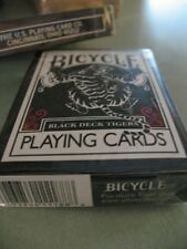 Bicycle Black Tiger Red Pips Magic Deck  Playing Cards