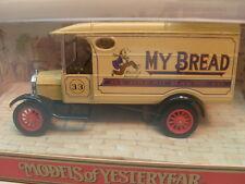 MATCHBOX MODELS OF YESTERYEAR Y-21 1926 FORD MODEL TT VAN MY BREAD MIB
