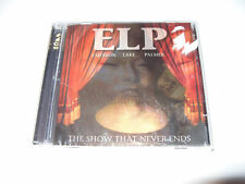 ELP The Show That Never Ends (2 CD 2001) New / not Sealed