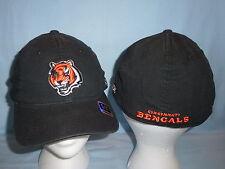 CINCINNATI BENGALS Reebok NFL Team Apparel CAP/HAT size Small/Medium  NWT  black