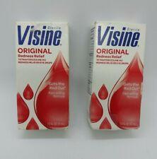 * 2*  Visine Original Redness Reliever Eye Drops .5 Fl. Oz