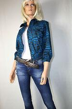 Cora Kemperman DESIGNER Jacket Blazer Size W Blue