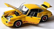 Porsche 911 Carrera RS 2,7 1973 jaune jaune 1:24 Ebbro Premium Collection