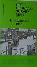 Old Ordnance Survey  Detailed Map North Ormesby Yorkshire 1913  Sheet 6.15