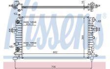 NISSENS Radiador, refrigeración del motor OPEL ASTRA ZAFIRA VAUXHALL 63027A